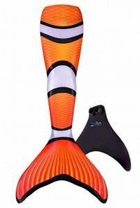 Queues de sirène en édition limitée - tailles enfant/adulte - avec monopalme/pour nager de la marque Fin Fun image 0 produit