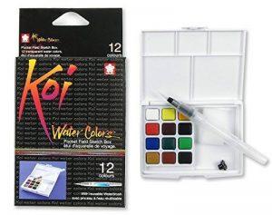 Sakura Koi Aquarelle Field Box Lot de 12Couleurs de la marque Sakura image 0 produit