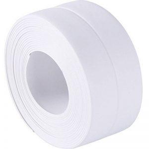 Self Adhesive Sealant Tape Wall Caulk Strip Wall Corner Edge Trimmer Anti-Scratch Moisture Proof PVC Wall Decoration, 38 mm x 3.2 m de la marque Sumind image 0 produit