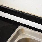 Self Adhesive Sealant Tape Wall Caulk Strip Wall Corner Edge Trimmer Anti-Scratch Moisture Proof PVC Wall Decoration, 38 mm x 3.2 m de la marque Sumind image 4 produit