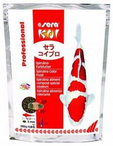 Sera - Koi Professional - Nourriture spécial couleurs pour poissons - Carpes koï - À base de spiruline - 1 x 2.2 kg de la marque SERA image 0 produit