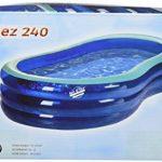 Simex Sport St Tropez 240 Piscine gonflable Bleu/menthe 243 x 157 x 53 cm de la marque Slimex image 3 produit