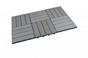 SORARA - WPC | Robuste | 30 x 30 cm | Gris | Sorara | 6x | 0.54 m2| Dalles massives pour Jardin et Terrasse | avec Système de Clic de la marque SORARA image 0 produit