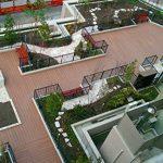 SORARA - WPC | Robuste | 30 x 30 cm | Marron | 6x | 0.54 m2 | Dalles massives pour Jardin et Terrasse | avec Système de Clic de la marque SORARA image 4 produit