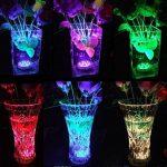 StillCool Lumière submersible de LED, Lampe Sous-marines décoratives multicolore LED Avec Télécommande Pour L'éclairage/aquarium de poisson/Mariage/Fête (Lot de 4pcs LED) de la marque StillCool image 3 produit