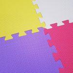 Stomping Ground Toys™ - 18dalles de sol en mousse pour enfant tapis d'activité colorées à imbriquer de la marque Stomping Ground ToysTM image 2 produit
