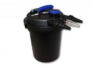 Sunsun CPF-180 Filtre de bassin à pression avec UV 11W jusqu'à 6000l Nettoyage facile de la marque SunSun image 0 produit