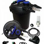 Sunsun CPF-180 Filtre de bassin à pression avec UV 11W jusqu'à 6000l Nettoyage facile de la marque SunSun image 2 produit