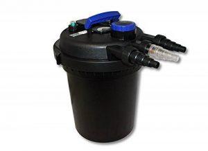 Sunsun CPF-250 Filtre de bassin à pression avec UV 11W jusqu'à 10000l Nettoyage facile de la marque WilTec image 0 produit