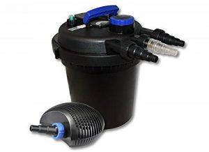 SunSun Kit de filtration de bassin à pression 10000l avec 11W UVC Stérilisateur et 20W éco Pompe de la marque SunSun image 0 produit