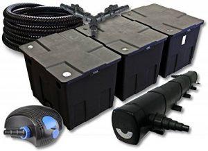 SunSun Kit de filtration de bassin pour 90000l avec 72W Stérilisateur et 100W éco Pompe 25m Tuyau de la marque SunSun image 0 produit
