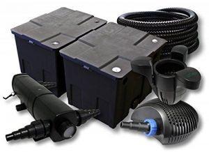 SunSun Kit filtration de bassin 60000l avec 36W Stérilisateur 40W éco Pompe 25m Tuyau Skimmer SK30 de la marque SunSun image 0 produit