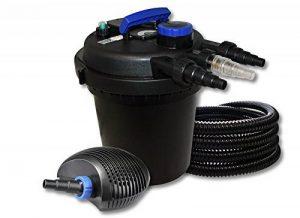 SunSun Kit filtration de bassin à pression 10000l avec 11W UVC Stérilisateur 20W éco Pompe 25m Tuyau de la marque SunSun image 0 produit