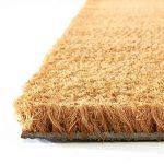 Tapis coco casa pura® tapis d'entrée | couleur nature | fibre naturelle | épais.17mm | 3 tailles - 50x80cm de la marque casa pura image 2 produit