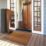 Tapis coco casa pura® tapis d'entrée | couleur nature | fibre naturelle | épais.17mm | 3 tailles - 50x80cm de la marque casa pura image 3 produit