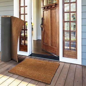 Tapis d'entrée en coco casa pura® en couleur nature | fibres en coco naturel - effet nettoyant élevé | épaisseur 30mm - 3 tailles - 50x80cm de la marque casa pura image 0 produit