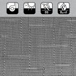Tapis intérieur extérieur casa pura® résistant, antisalissure, impermeable et antidérapant | nombreux design/tailles | Siena - 60x100cm de la marque casa pura image 1 produit