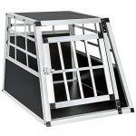 TecTake Cage Box Caisse de Transport pour Chien Mobile Aluminium - diverses tailles au choix - (Simple/petit   No. 400548) de la marque TecTake image 1 produit