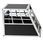 TecTake Cage Box Caisse de Transport pour Chien Mobile Aluminium - diverses tailles au choix - (Simple/petit   No. 400548) de la marque TecTake image 4 produit
