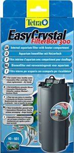 Tetra EasyCrystal FilterBox 300 - Filtre pour Aquarium de 40 à 60L - Triple Filtration Brevetée - sans Odeur - Avec Compartiment pour Chauffage de la marque Tetra image 0 produit
