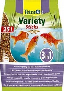 Tetra Pond Variety Sticks - Aliment Complet en sticks pour Poisson de Bassin - 25L de la marque Tetra image 0 produit
