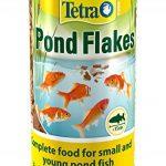 Tetra étang Flocon Poisson Nourriture, Nourriture complète pour petits et jeunes Poissons, bassin 1litre de la marque Tetra image 2 produit