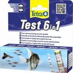 Tetra Test 6in1 - Bandelettes de Tests - 25 Bandelettes de la marque Tetra image 1 produit