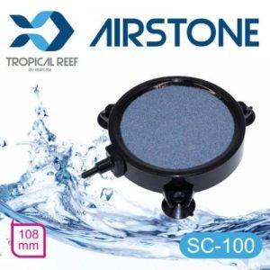 Tropical-reef SC100Koi pour aquarium ou bassin 100mm 10,2cm rond en céramique pour aquarium Air Pierre disque Diffuseur avec 3Gratuit de montage ventouses de la marque Heritage image 0 produit