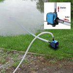 TSSS Pompe à eau fontaine pompe submersible 2500L/H 45W pour bassin de jardin poisson étang Fontaine Aquarium de la marque TSSS image 2 produit