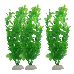 UEETEK Réservoir de poissons Plantes artificielles en plastique vert Décorations pour plantes aquatiques - PAXK OF 3 de la marque UEETEK image 0 produit