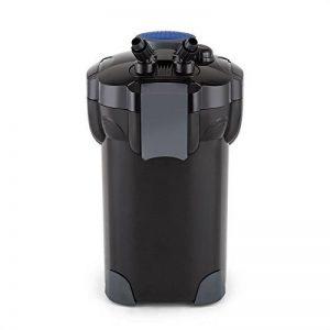 Waldbeck Clearflow 55 • Filtre externe pour aquarium • Pour aquarium de max. 2000L • Faible consommation • Filtrage en 4 parties • Nettoyage facile • Tuyau 1,6m • Eau douce ou salée • Noir de la marque Waldbeck image 0 produit