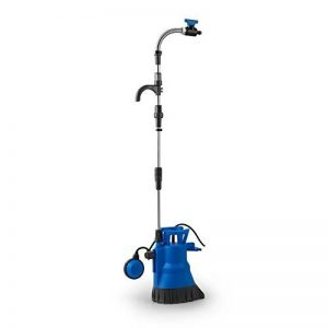 Waldbeck Easy Rain Pompe immergée • Citerne eau de pluie • Eaux usées • Aspire jusqu'à 5200 litres d'eau par heure • Profondeur d'immersion maximale : 7m • Hauteur d'aspiration maximale : 11m • Colonne montante rigide en 3 parties de 1 m de la marque Wald image 0 produit