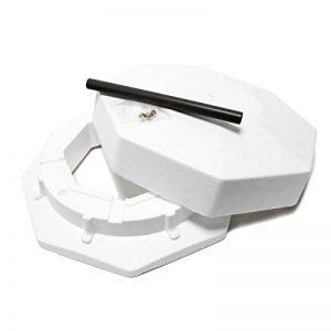 WilTec Antigel Polystyrène, octogonal, Diam 400mm Tuyau d´Aération,Basse consommation,hivernage de la marque WilTec image 0 produit