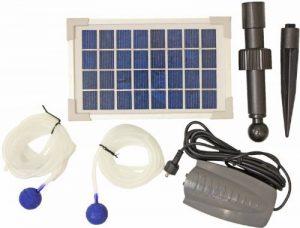 Woodside Pompe solaire à oxygène pour étangs 2 têtes de diffusion de la marque Woodside image 0 produit